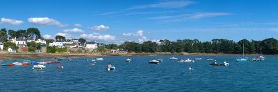 Village of Larmor-Baden, Gulf of Morbihan, Morbihan, Brittany, France--Photographic Print
