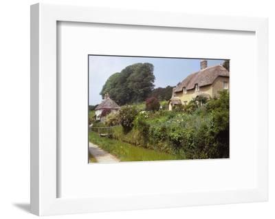 Village of Littlebredy, Dorset, 20th century-CM Dixon-Framed Photographic Print