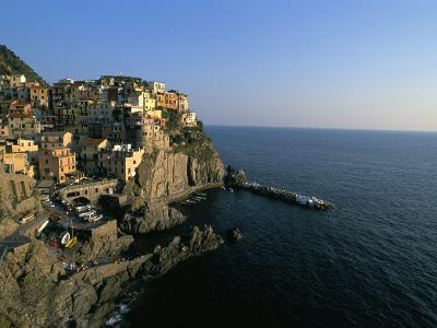Village of Manarola, Cinque Terre, Unesco World Heritage Site, Liguria, Italy, Mediterranean-Bruno Morandi-Photographic Print