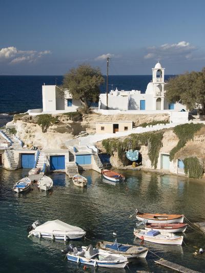 Village of Mandrakia, Island of Milos, Cyclades, Greek Islands, Greece, Europe-Richard Maschmeyer-Photographic Print