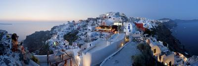 Village of Oia (La), Santorini (Thira), Cyclades Islands, Greece-Gavin Hellier-Photographic Print