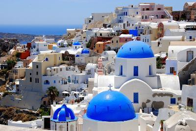 Village of Oia-Dimitris Sotiropoulos Photography-Photographic Print
