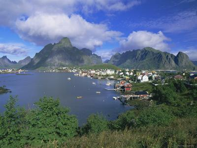 Village of Reine on Moskenesoya, Lofoten Islands, Nordland, Norway, Scandinavia, Europe-Gavin Hellier-Photographic Print