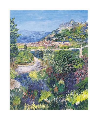 Village of St. Agnes-T^ Forgione-Art Print