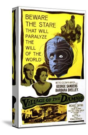 Village of the Damned, George Sanders, Barbara Shelley, 1960