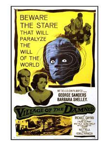 Village of the Damned, George Sanders, Barbara Shelley, 1960