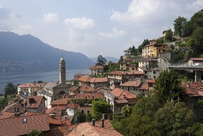 Village Overlooking Lake Garda, Italian Lakes, Lombardy, Italy, Europe-James Emmerson-Photographic Print