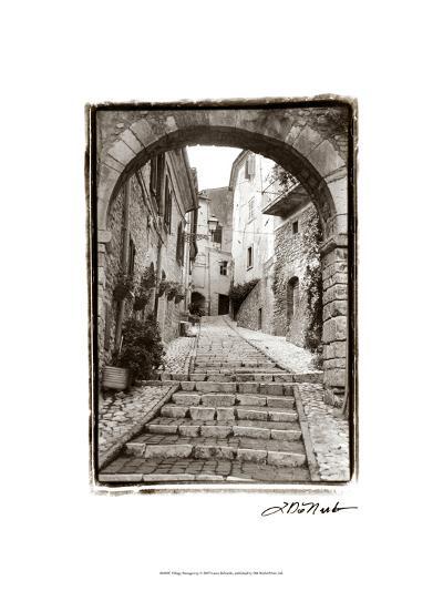 Village Passageway-Laura Denardo-Art Print