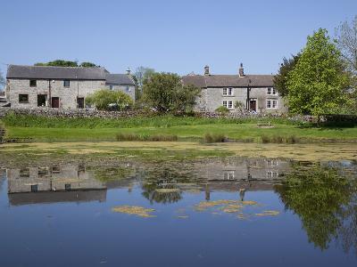 Village Pond, Monyash, Peak District, Derbyshire, England, United Kingdom, Europe-Frank Fell-Photographic Print