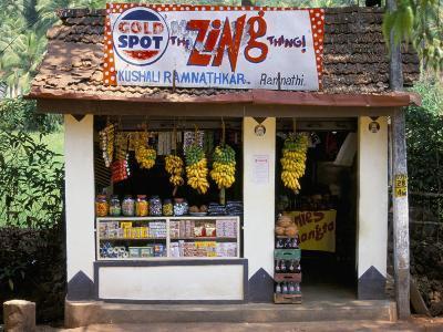 Village Shop, Hindu Ponda, Goa, India-Michael Short-Photographic Print