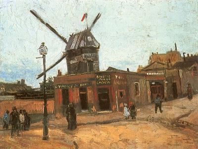 Village Street, 1886-Vincent van Gogh-Giclee Print