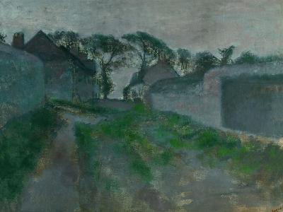 Village Street, Saint Valery-Sur-Somme, 1896-1898-Edgar Degas-Giclee Print