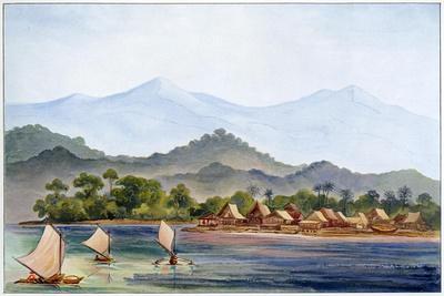 Village, Sumatra, Indonesia, 1906-Ernst Heinrich Philipp August Haeckel-Giclee Print