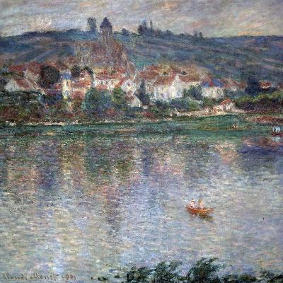 Village Vétheuil, 1901-Claude Monet-Giclee Print