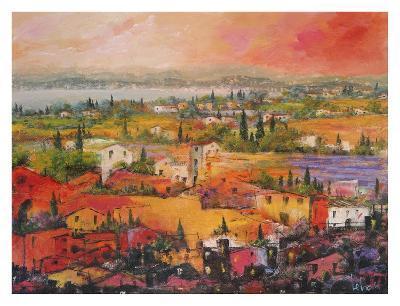 Villaggio delle Praterie-Tebo Marzari-Art Print