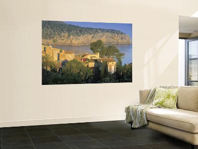 Villas by the Sea, Deya, Majorca, Balearics, Spain-Peter Adams-Wall Mural