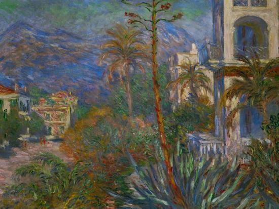 Villas in Bordighera, Italy-Claude Monet-Giclee Print