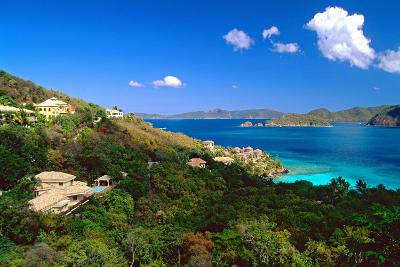 Villas with a View, St John, US Virgin Islands-George Oze-Photographic Print