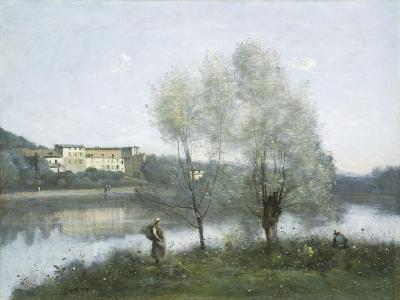 Ville D'Avray, c.1865-Jean-Baptiste-Camille Corot-Giclee Print