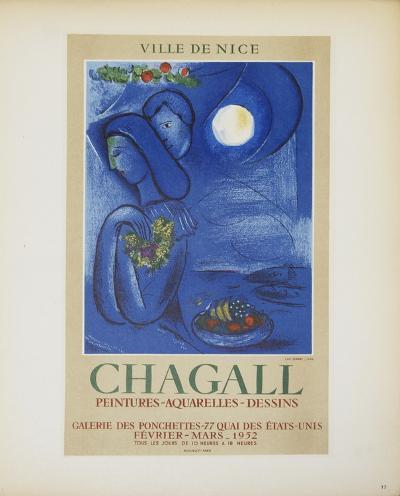 Ville de Nice-Marc Chagall-Art Print