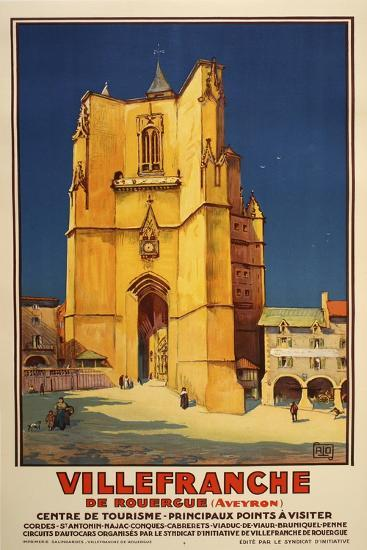 Ville Franche-Marcus Jules-Giclee Print