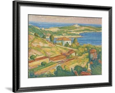 Ville Franche-Karl Nordstrom-Framed Giclee Print