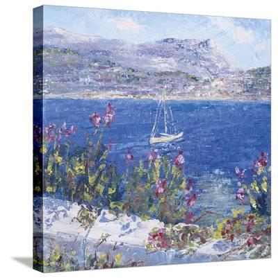 Villefranche Bay-Tania Forgione-Stretched Canvas Print