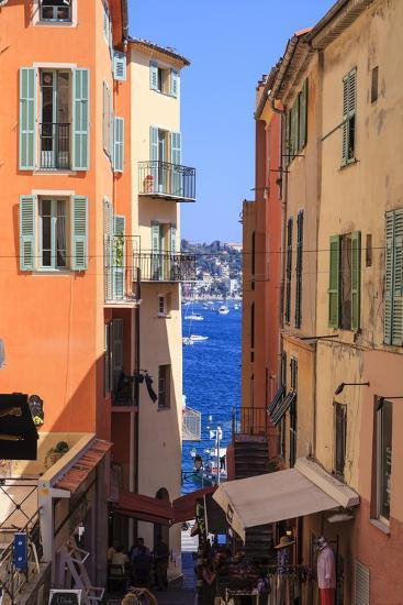 Villefranche-Sur-Mer, Alpes Maritimes, Provence, Cote D'Azur, French Riviera, France, Europe-Amanda Hall-Photographic Print