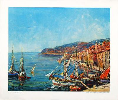Villefranche-Maurice Barle-Art Print
