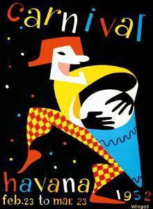 Carnival - Havana, Cuba - Feb. 23 to Mar. 23, 1952 by Villegas