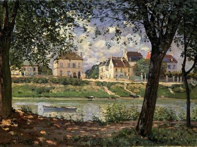 Villeneuve-La-Garenne (Village on the Sein), 1872-Alfred Sisley-Giclee Print