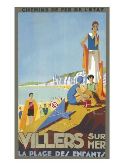 Villers-Sur-Mer Poster--Giclee Print