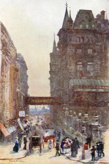 Villiers Street, Charing Cross-Rose Maynard Barton-Giclee Print