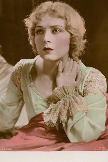 Vilma Banky, Hungarian Actress and Film Star--Photographic Print