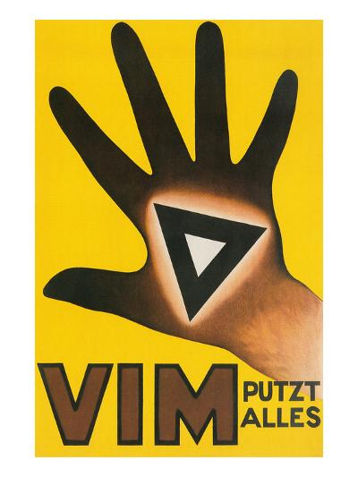 Vim Putzt Alles Poster--Art Print