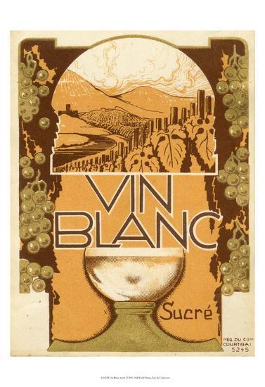 Vin Blanc--Art Print