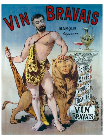 Vin Bravais--Giclee Print