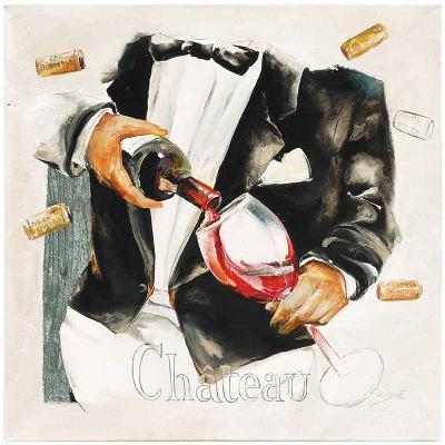 Vin Château-Lizie-Art Print