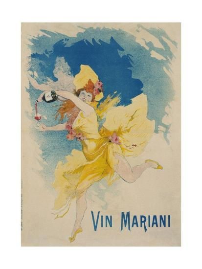Vin Mariani Poster-Jules Ch?ret-Giclee Print