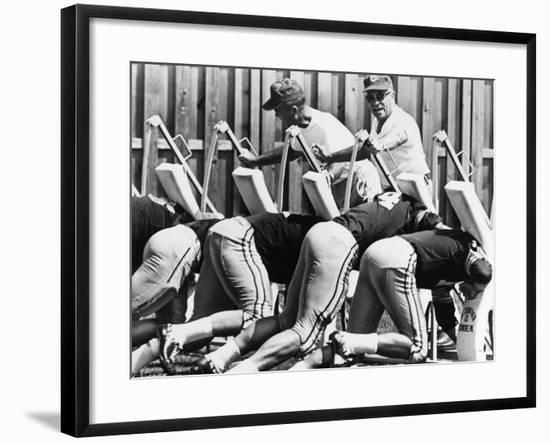 Vince Lombardi (1913-1970)--Framed Giclee Print