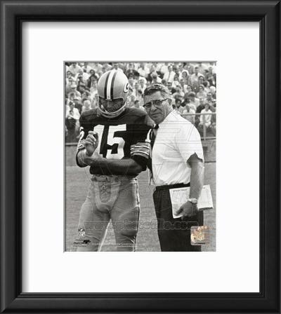 Vince Lombardi & Bart Starr