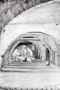 Arches, Sauveterre, France, 2010 by Vincent Alexander Booth