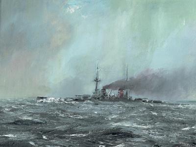 Battlecruiser Derfflinger 1916, 2016