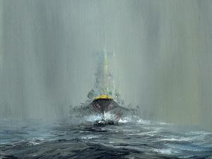 Battleship Yamato 1945, 2016 by Vincent Alexander Booth