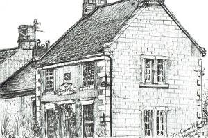 Corner House,Hartington, 2003 by Vincent Alexander Booth