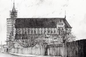 Gorton Monastery, 2006 by Vincent Alexander Booth
