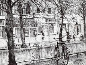 Harlingen Holland, 2005 by Vincent Alexander Booth