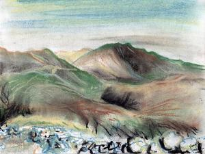 Hills in the Lake District, 2005, by Vincent Alexander Booth