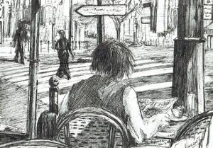 La Rotonde - Paris, 2003 by Vincent Alexander Booth