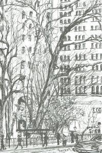 Madison Square park New York, 2003 by Vincent Alexander Booth